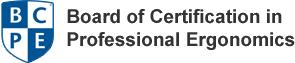 Board of Certification in Professional Ergonomics