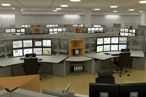 Knurr Control Room Consoles